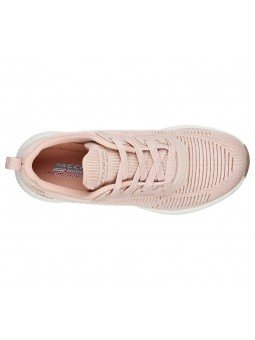 Zapatillas Skechers Sport Bobs Squad Glam League, modelo 31347, color rosa BLSH, vista aerea
