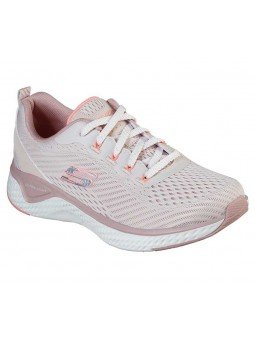 Zapatilla Skechers Solar Fuse Cosmic View, modelo 149051, color rosa LTPK