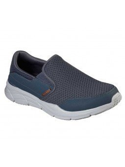 Mocasín Skechers Relaxed Fit Equalizer 4.0 Persisting, modelo 232017, color gris CCOR
