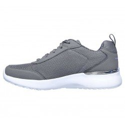 Zapatilla Skechers Skech-Air Dynamight Fast Brake, modelo 12947, color gris GRY, lateral interior