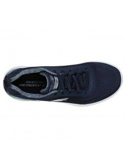 Zapatilla Skechers Skech-Air Dynamight Fast Brake, modelo 12947, color marino NVY, vista aerea
