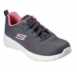 Zapatilla Skechers Sport Dynamight 2.0 Eye To Eye, modelo 12964, color gris CCCL