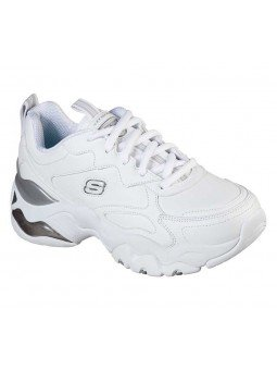 Zapatilla Skechers D'Lites 3.0 Air Golden Rules , modelo 149088, color blanco WSL