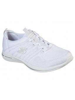 Zapatillas Skechers Sport Active Ity Pro Glow On, modelo 104015, color blanco WSL