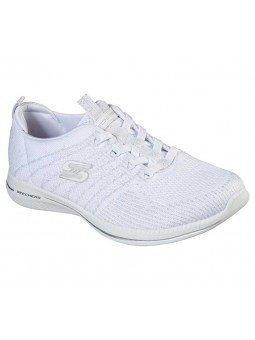 Zapatillas Skechers Sport Active Ity Pro Glow On, modelo 104015, color blanco WSL