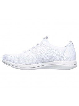 Zapatillas Skechers Sport Active Ity Pro Glow On, modelo 104015, color blanco WSL, lateral interior