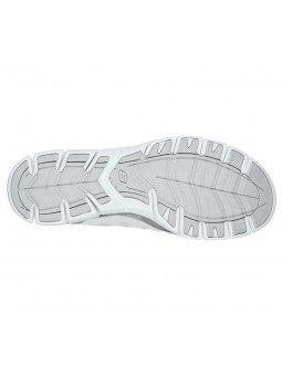 Zapatillas Skechers Sport Active Gratis Comfy, modelo 104031, color blanco WHT, suela