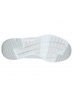 Zapatillas Skechers Online Flex Appeal 3.0 Fisrt Insight, modelo 13070, color blanco WSL, suela