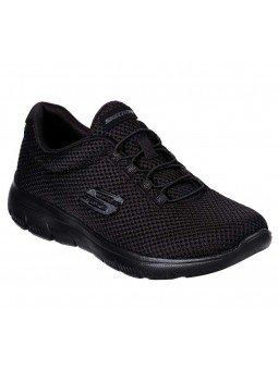 Zapatillas Skechers Sport Summits Quick Lapse, modelo 12985, color negro BBK