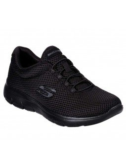 Zapatillas Skechers Sport Summits Quick Lapse, modelo 12985, color negro BBK
