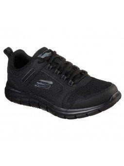 Zapatillas Skechers Online Sport Track Knockhill, modelo 232001, color negro BBK
