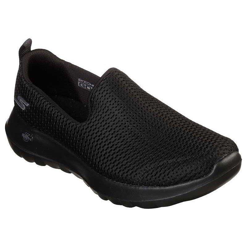 Mocasines Skechers Online Performance Go Walk Joy, modelo 15600, color negro BBK