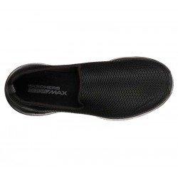 Mocasines Skechers Online Performance Go Walk Joy, modelo 15600, color negro BBK, vista aerea