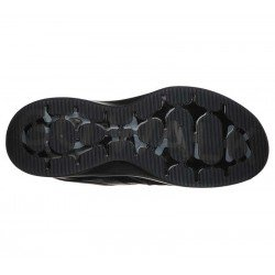 Zapatilla Skechers Online Performance Go Walk Steady, modelo 124111, color negro BBK, suela