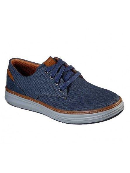 Comprar Zapatos Skechers Classic Fit Moreno Ederson, modelo 65981, color marino NVY