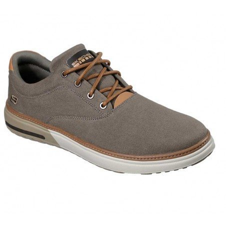Comprar Online Zapatos casual Skechers Classic Fit Folten Verone, modelo 65370, color kaki KHK