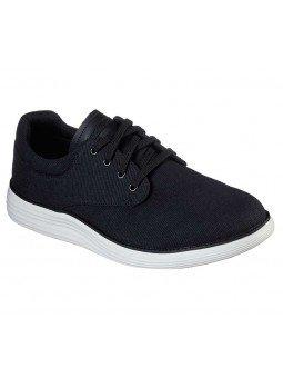 Comprar zapato casual Skechers Classic Fit Status 2.0 Burbank, modelo 204083, color negro BLK