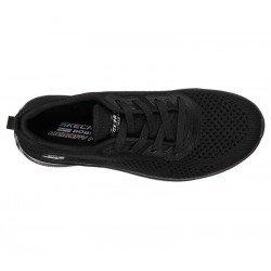 Comprar Zapatillas Skechers Bobs Sport Squad 2 Soxial Space, modelo 117018, color negro BBK, vista aerea