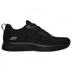 Comprar Zapatillas Skechers Bobs Sport Squad 2 Soxial Space, modelo 117018, color negro BBK, lateral exterior