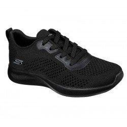 Comprar Zapatillas Skechers Bobs Sport Squad 2 Soxial Space, modelo 117018, color negro BBK