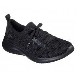 Comprar Zapatillas Skechers Ultra Flex Windy Sky, modelo 149033, color negra BBK