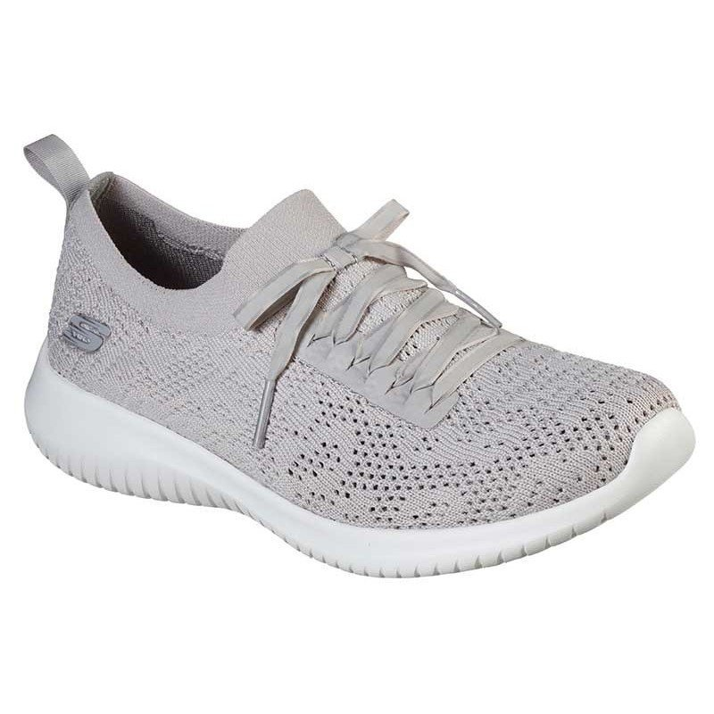 Comprar Zapatillas Skechers Ultra Flex Windy Sky, modelo 149033, color taupe TPE