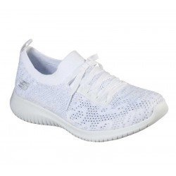 Comprar Zapatillas Skechers Ultra Flex Windy Sky, modelo 149033, color blanco WSL