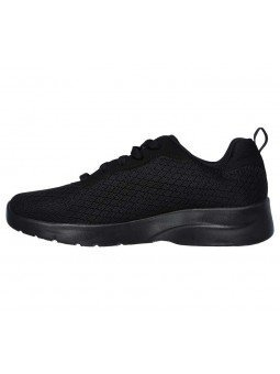 Comprar Zapatillas Skechers Sport Dynamight 2.0 Eye To Eye, modelo 12964, color negro BBK, lateral exterior
