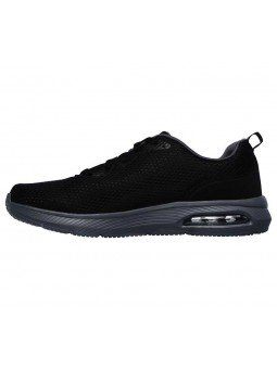 Comprar Online zapatillas Skechers Skech Air Dyna, modelo 52559, color negro BKCC, lateral interior