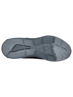 Comprar Online zapatillas Skechers Skech Air Dyna, modelo 52559, color negro BKCC, vista de la suela