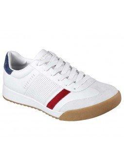 Comprar Sneakers Skechers Street Los Angeles Zinger, modelo 52321, color blanco WNV