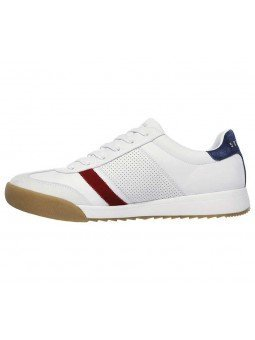 Sneakers Skechers Street Los Angeles Zinger, modelo 52321, color blanco WNV, lateral interior
