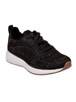 Comprar Sneakers Skechers Sport Bobs Squad Glam League, modelo 31347, color negro BLK