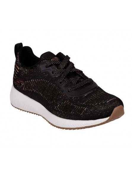 Comprar Sneakers Skechers Sport Bobs Squad Glam League, modelo 31347, color negro BLK