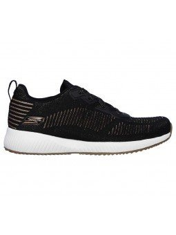 Comprar Sneakers Skechers Sport Bobs Squad Glam League, modelo 31347, color negro BLK, lateral exterior