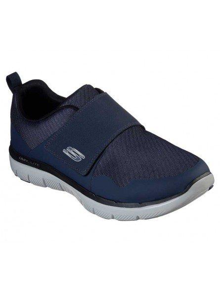 Comprar Zapatillas con vecro Skechers Flex Advantage 2.0 Gurn, modelo 52183, color marino oscuro DKNV