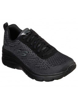 Comprar Zapatillas Skechers Fashion Fit Bold Boundaires, modelo 12719, color negro BBK