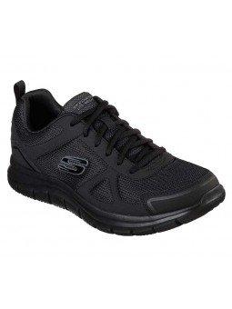Comprar Zapatillas Casual Skechers Sport Track Scloric, modelo 52631, color negro BBK