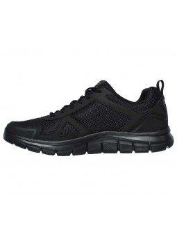 Comprar Zapatillas Casual Skechers Sport Track Scloric, modelo 52631, color negro BBK, lateral interior