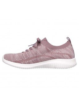 Comprar Zapatillas Skechers Ultra Flex modelo 12841 color lavanda LAV, lateral interior