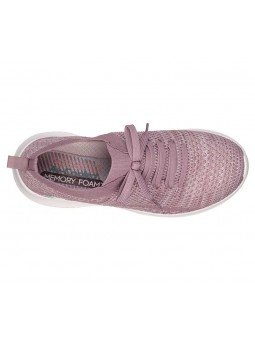 Comprar Zapatillas Skechers Ultra Flex modelo 12841 color lavanda LAV, vista aerea