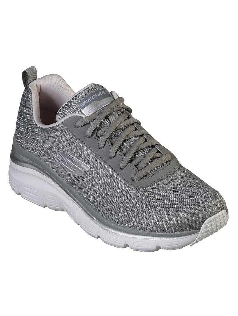 Comprar Zapatillas Skechers Fashion Fit Bold Boundaires, modelo 12719, color gris GYLV