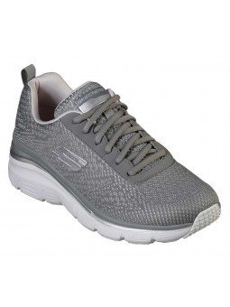 Comprar Zapatillas Skechers Fashion Fit Bold Boundaires, modelo 12719, color gris GYLV