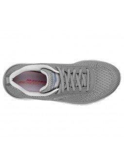 Comprar Zapatillas Skechers Fashion Fit Bold Boundaires, modelo 12719, color gris GYLV, vista aerea