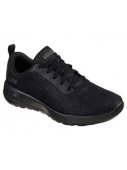 Comprar Online Skechers Go Walk Joy Vivify, en piel Tex impermeable, modelo 15613, color negro BBK