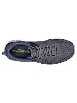 Comprar Zapatillas Casual Skechers Sport Track Scloric, modelo 52631, color marino NVY, vista aerea