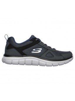 Comprar Zapatillas Casual Skechers Sport Track Scloric, modelo 52631, color marino NVY, lateral exterior