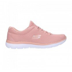 Comprar Zapatillas Skechers Sport Summits Quick Lapse, modelo 12985, color rosa ROS, lateral exterior