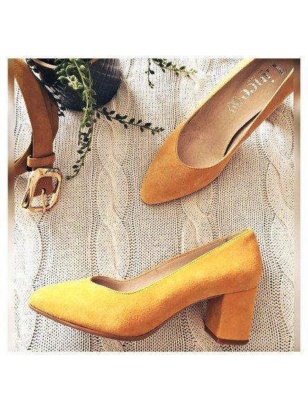 Comprar Online Zapato Salón Lince By Gianni Zenna, modelo 92001 Ocre