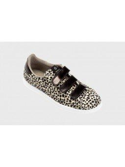 Comprar Zapatillas deportivas mujer, Tenis Victoria, modelo 125201, color animal print beige